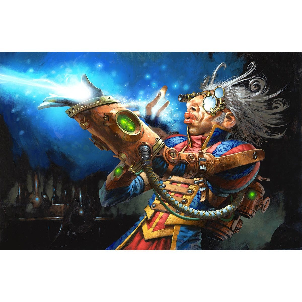 Izzet Guildmage Print - Print - Original Magic Art - Accessories for Magic the Gathering and other card games