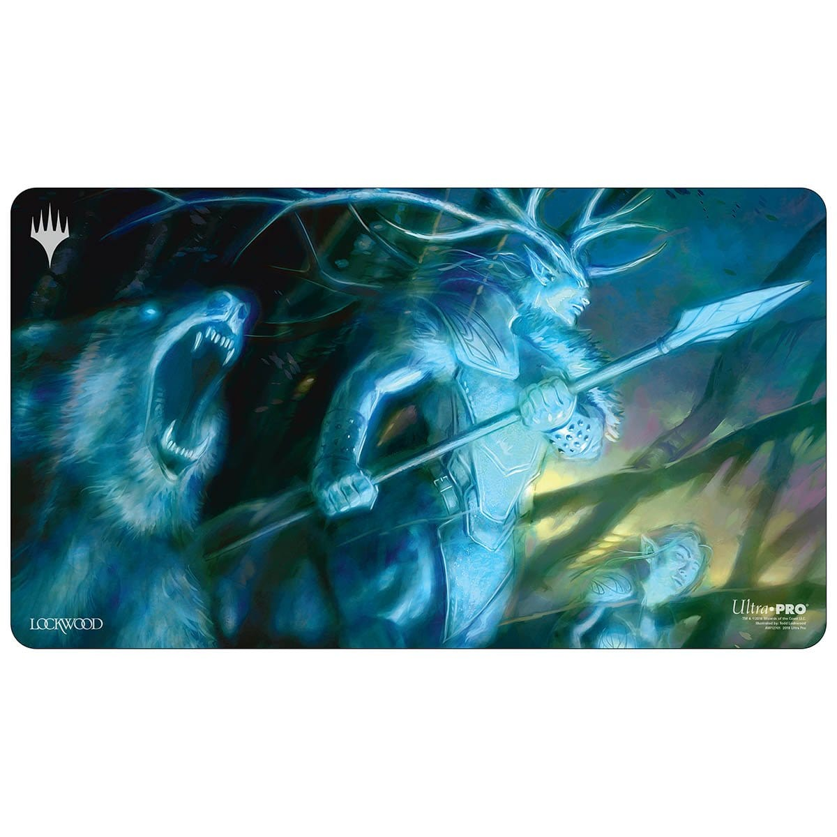 Karador, Ghost Chieftan Playmat - Playmat - Original Magic Art - Accessories for Magic the Gathering and other card games