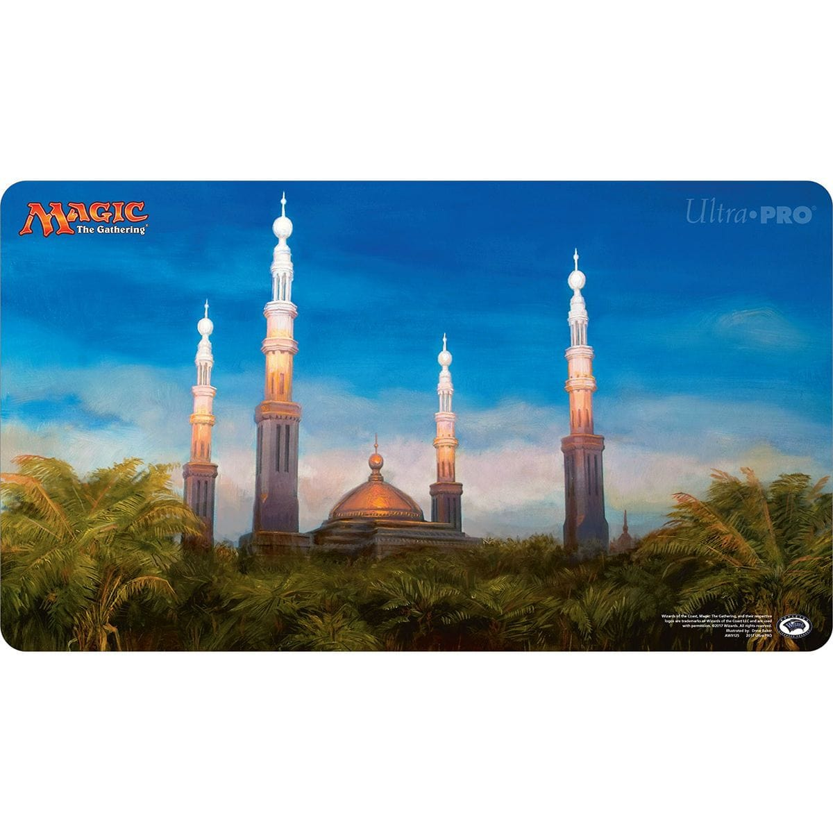 Karakas Playmat - Playmat - Original Magic Art - Accessories for Magic the Gathering and other card games