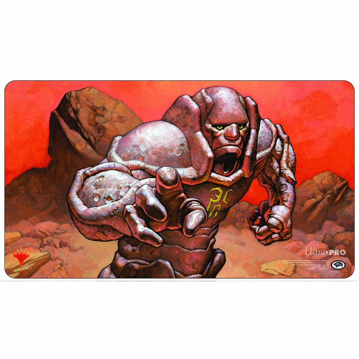 Karn, Silver Golem Playmat - Playmat - Original Magic Art - Accessories for Magic the Gathering and other card games