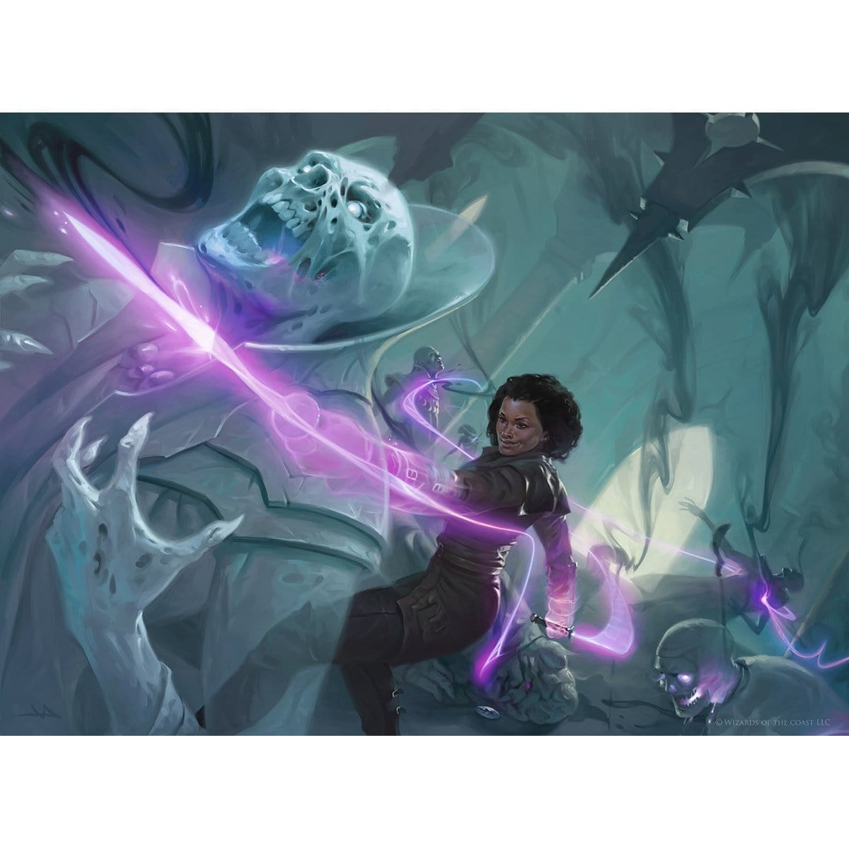 Kaya's Wrath Print - Print - Original Magic Art - Accessories for Magic the Gathering and other card games