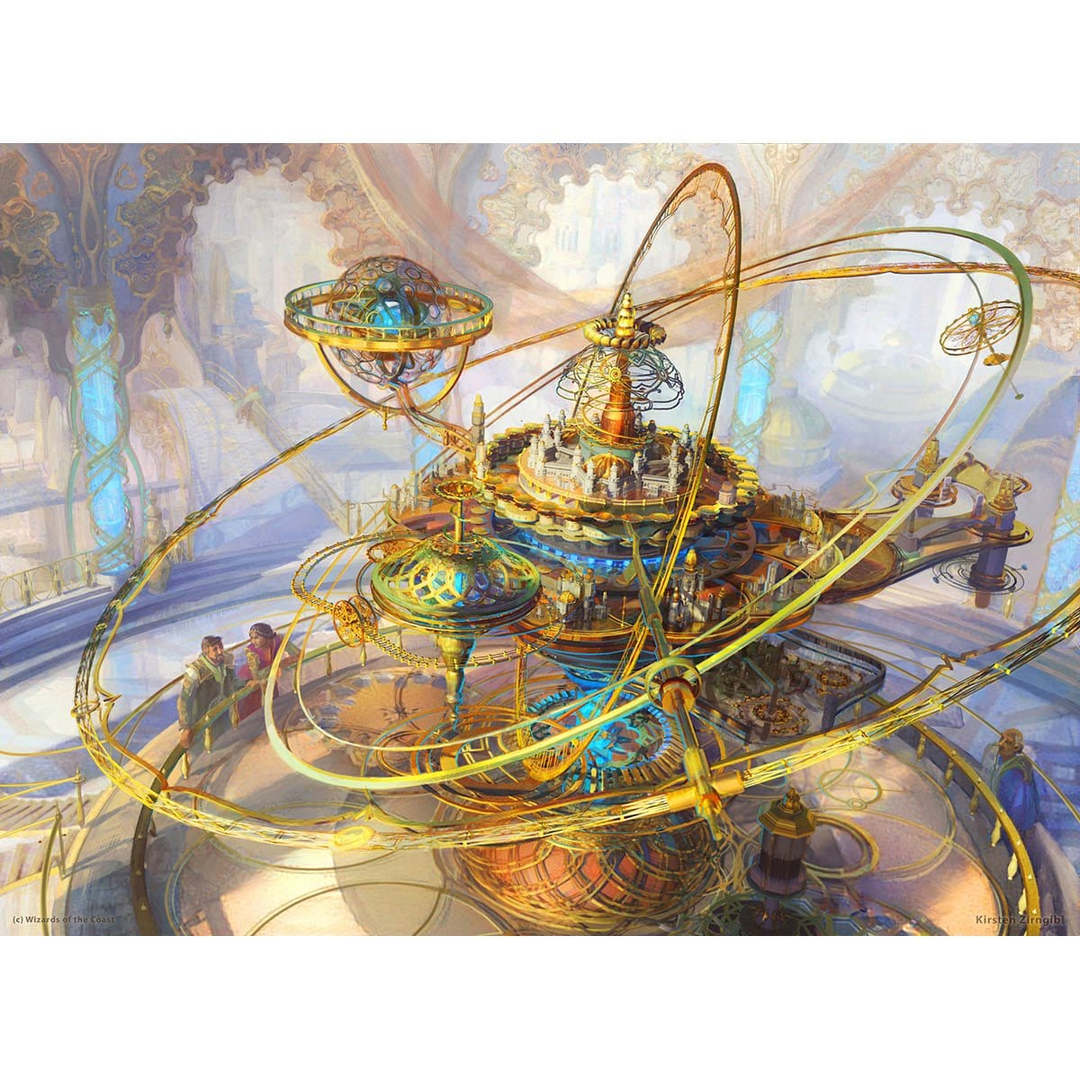 Ghirapur Orrery Print - Print - Original Magic Art - Accessories for Magic the Gathering and other card games