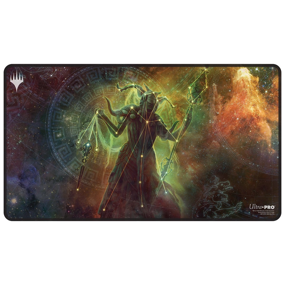 Klothys, God of Destiny Playmat