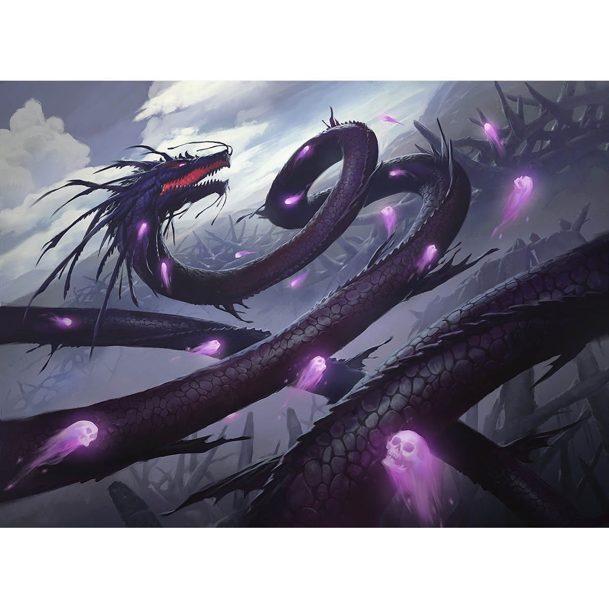 Kokusho, the Evening Star Print - Print - Original Magic Art - Accessories for Magic the Gathering and other card games