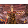 Kor Firewalker Print - Print - Original Magic Art - Accessories for Magic the Gathering and other card games