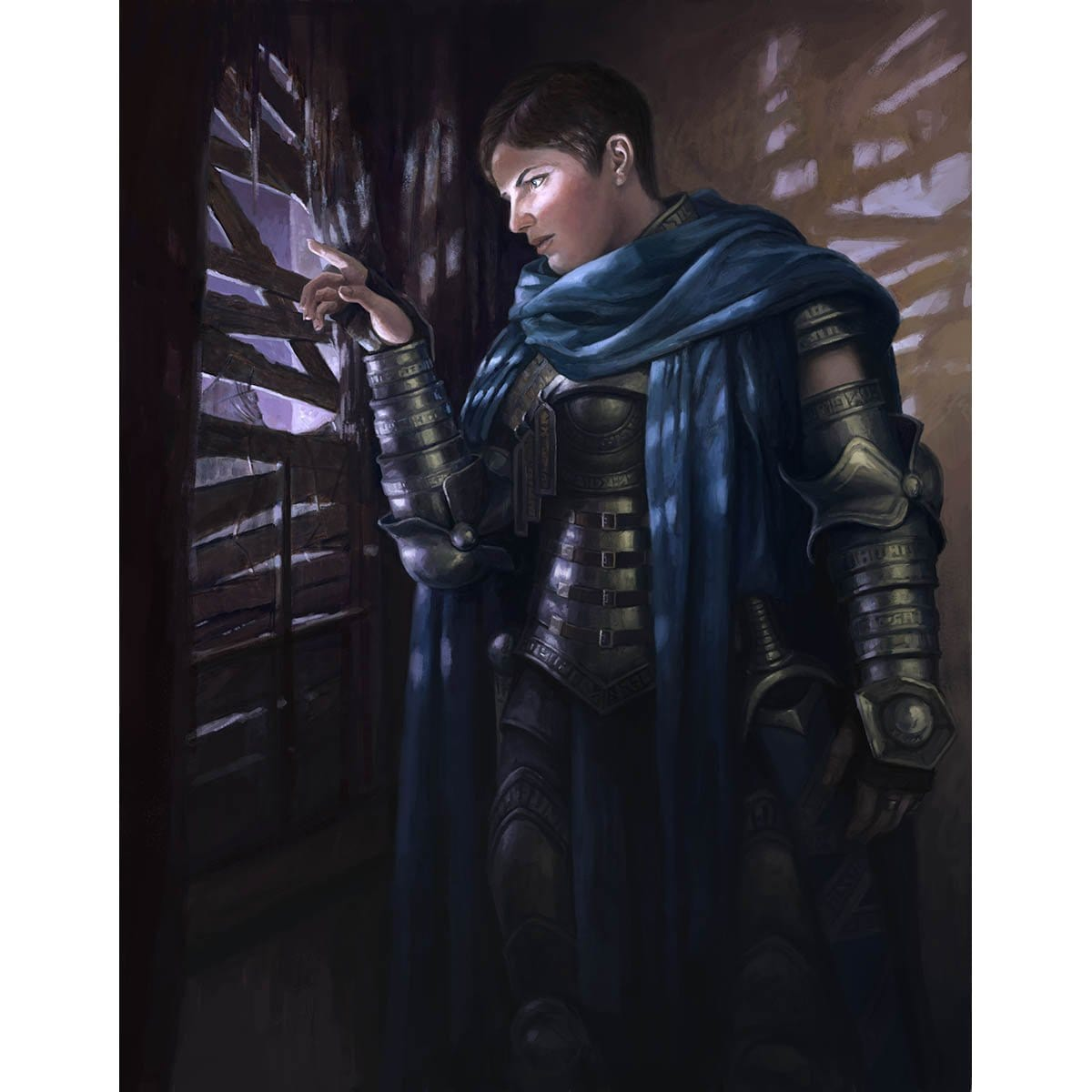Lavinia, Azorius Renegade Print - Print - Original Magic Art - Accessories for Magic the Gathering and other card games