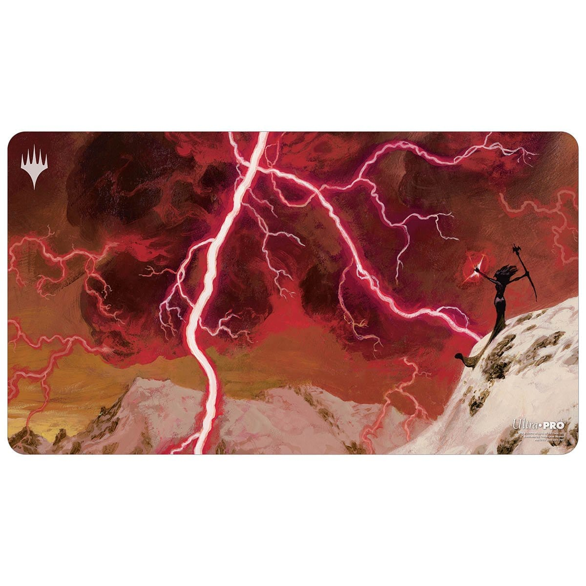 Lightning Bolt Playmat - Playmat - Original Magic Art - Accessories for Magic the Gathering and other card games