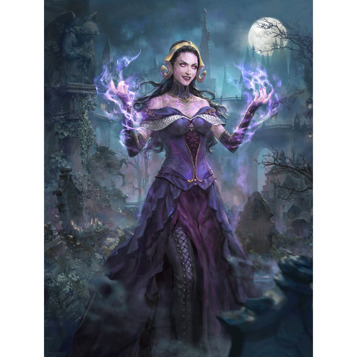 Liliana, the Necromancer Print