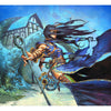 Linessa, Zephyr Mage Print - Print - Original Magic Art - Accessories for Magic the Gathering and other card games
