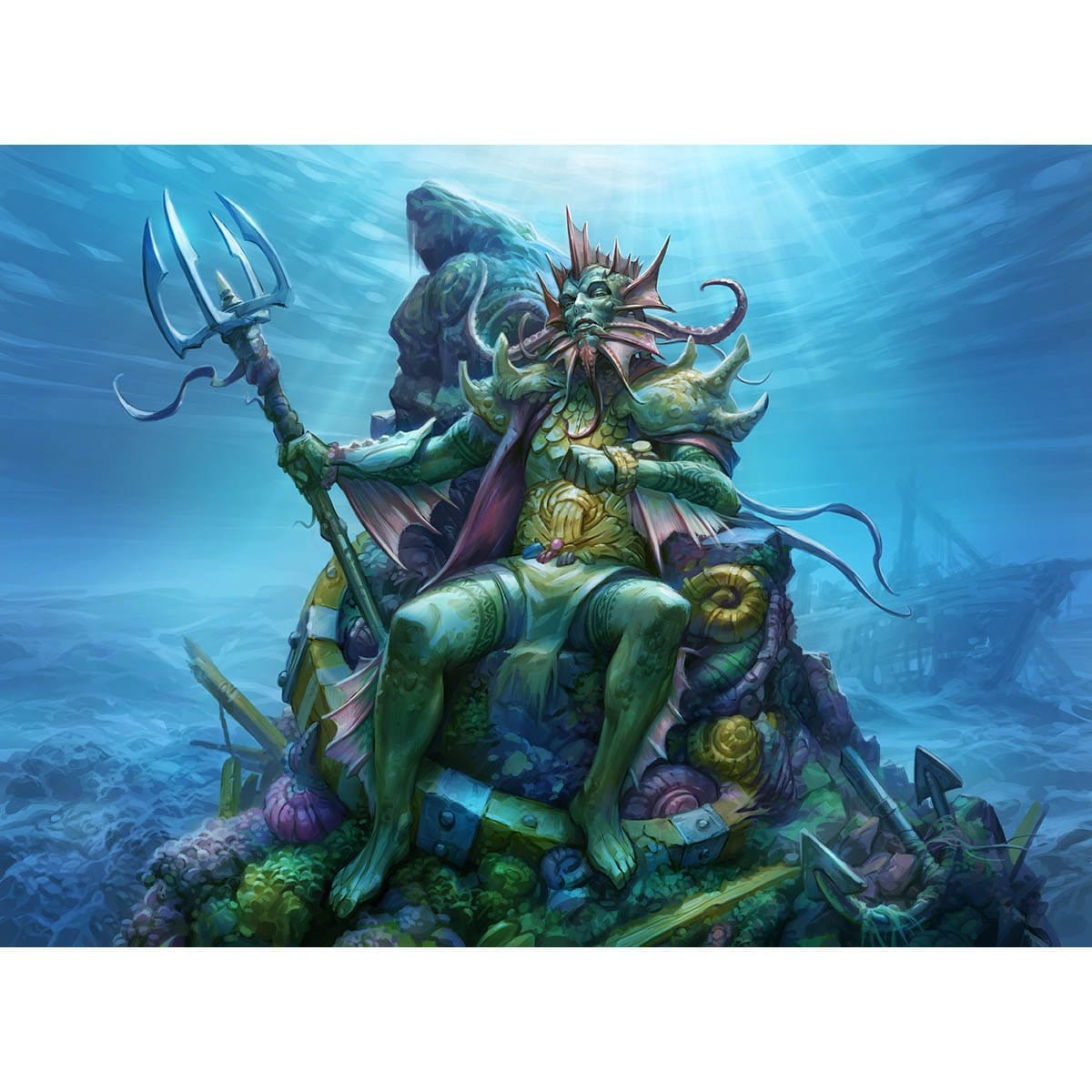 Lord of Atlantis Print
