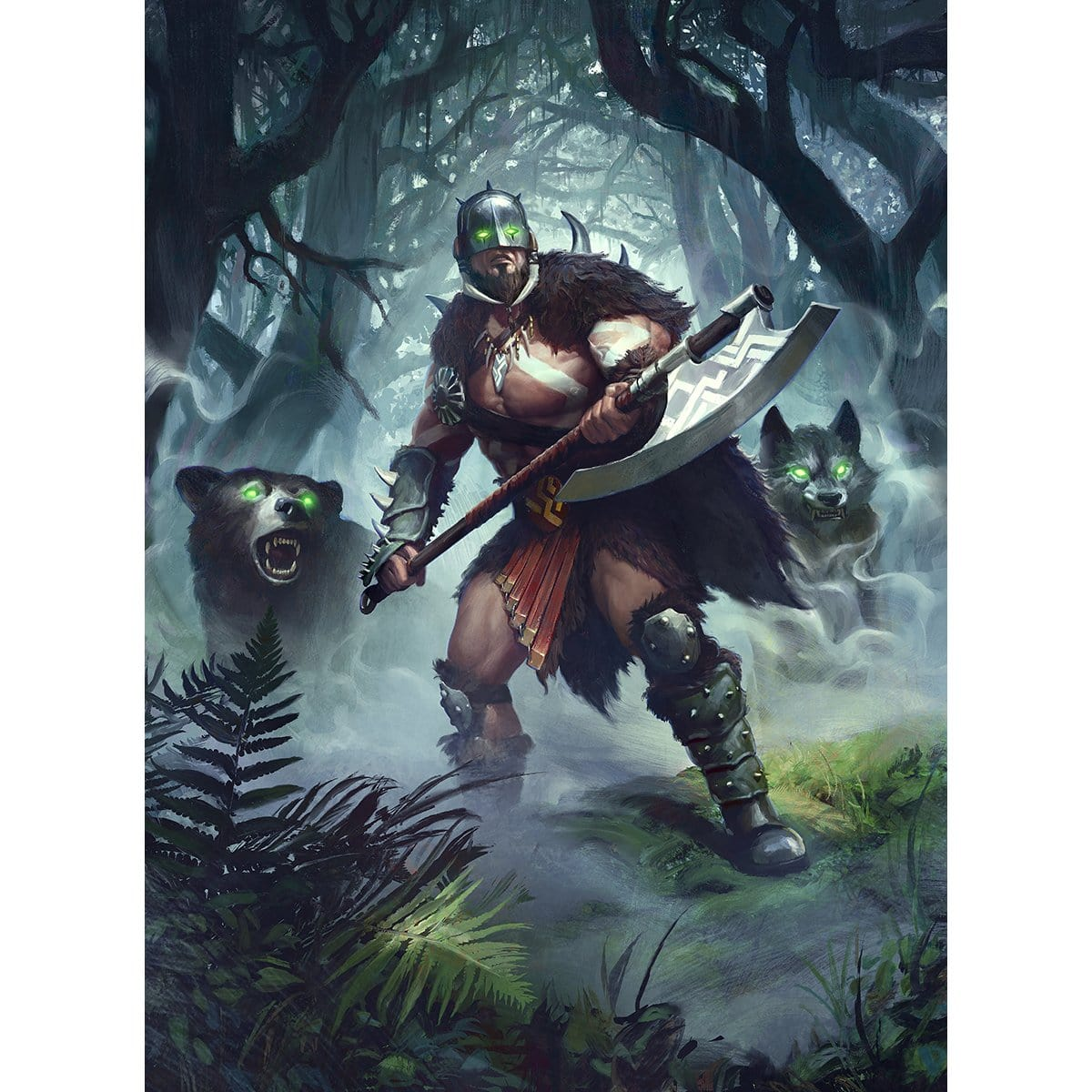 Garruk, Unleashed Print