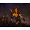 Mad Ratter Print - Print - Original Magic Art - Accessories for Magic the Gathering and other card games