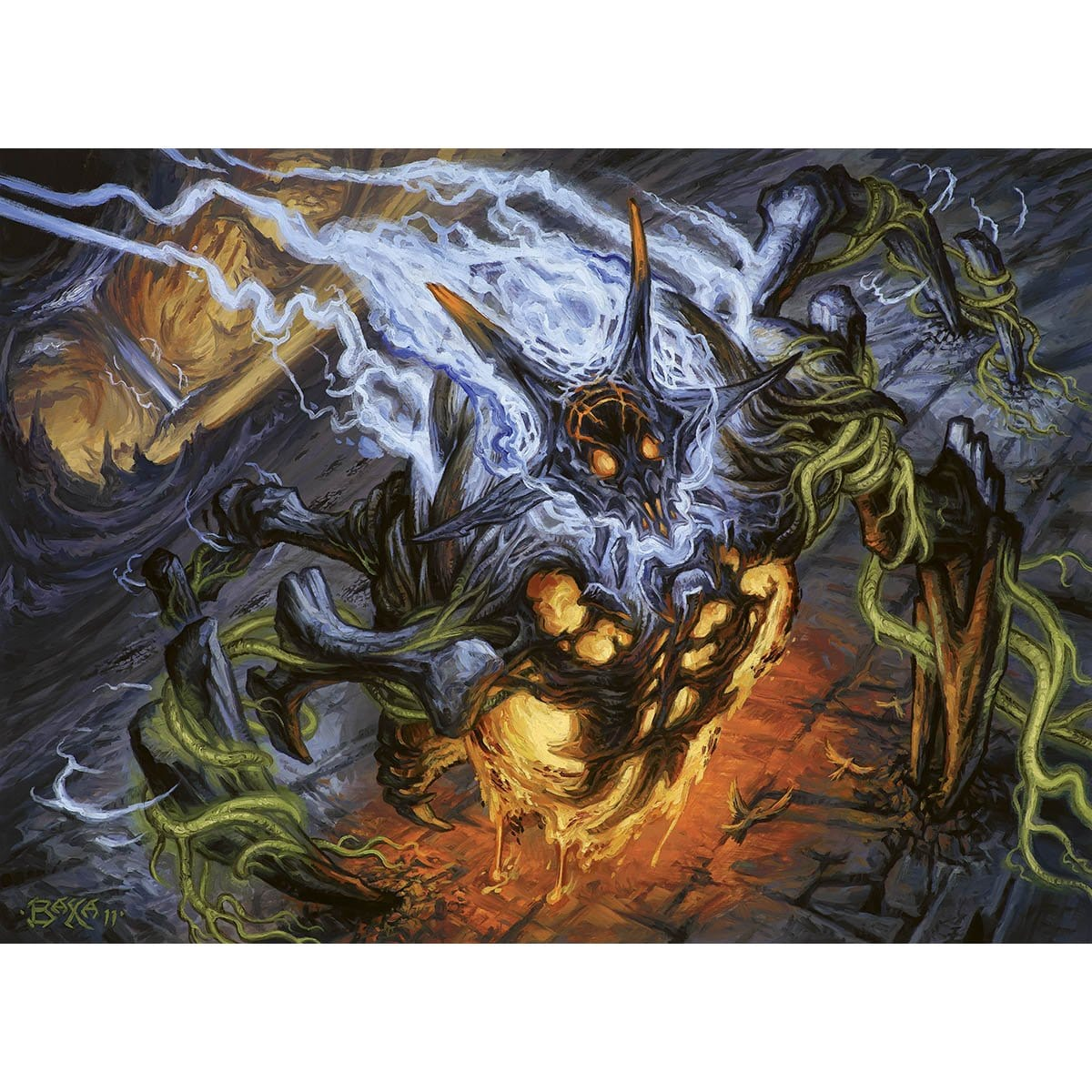 Maelstrom Wanderer Print - Print - Original Magic Art - Accessories for Magic the Gathering and other card games