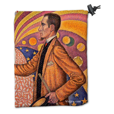 Manifest Dice Bag by Paul Signac - Dice Bag - Original Magic Art - Accessories for Magic the Gathering and other card games