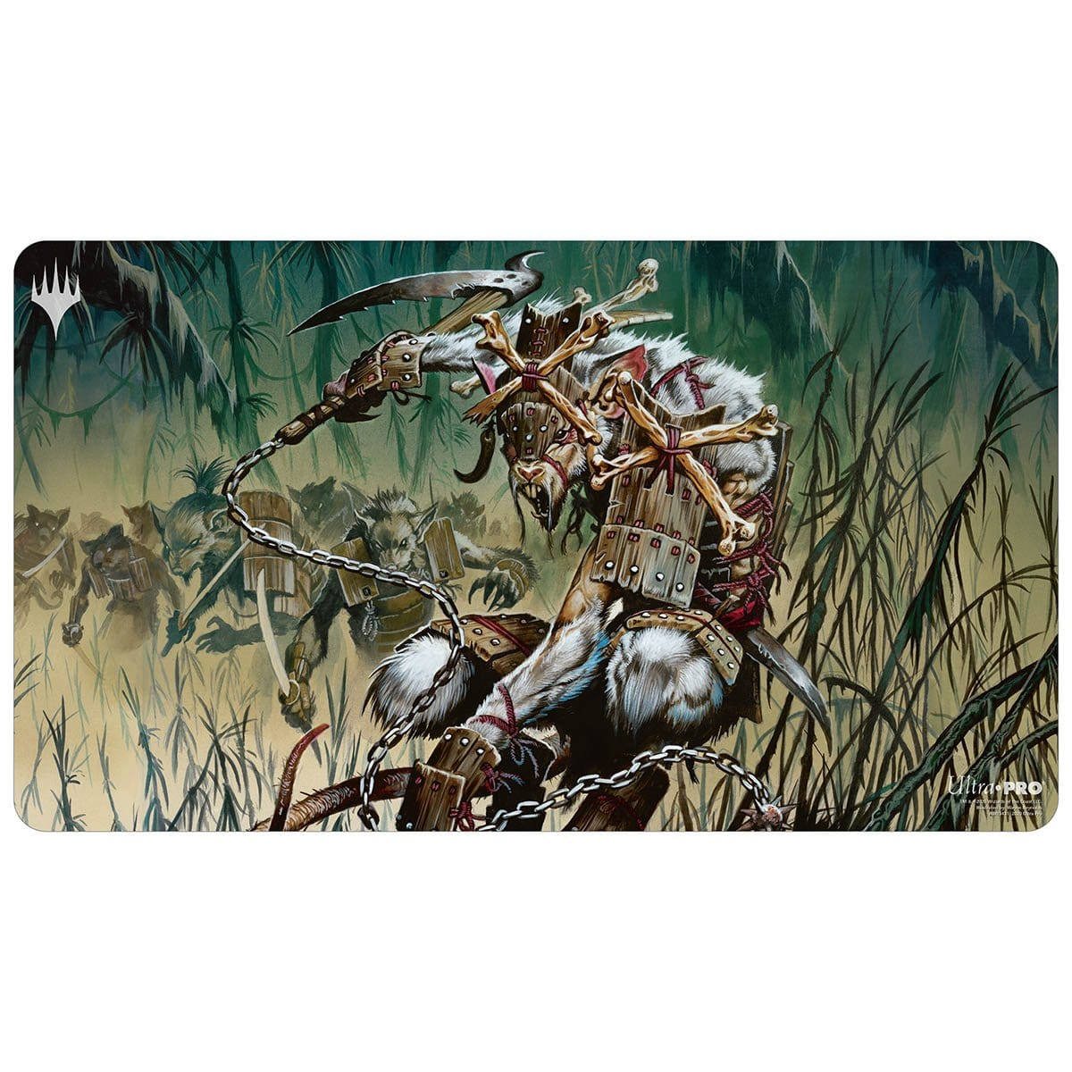 Marrow-Gnawer Playmat - Playmat - Original Magic Art - Accessories for Magic the Gathering and other card games
