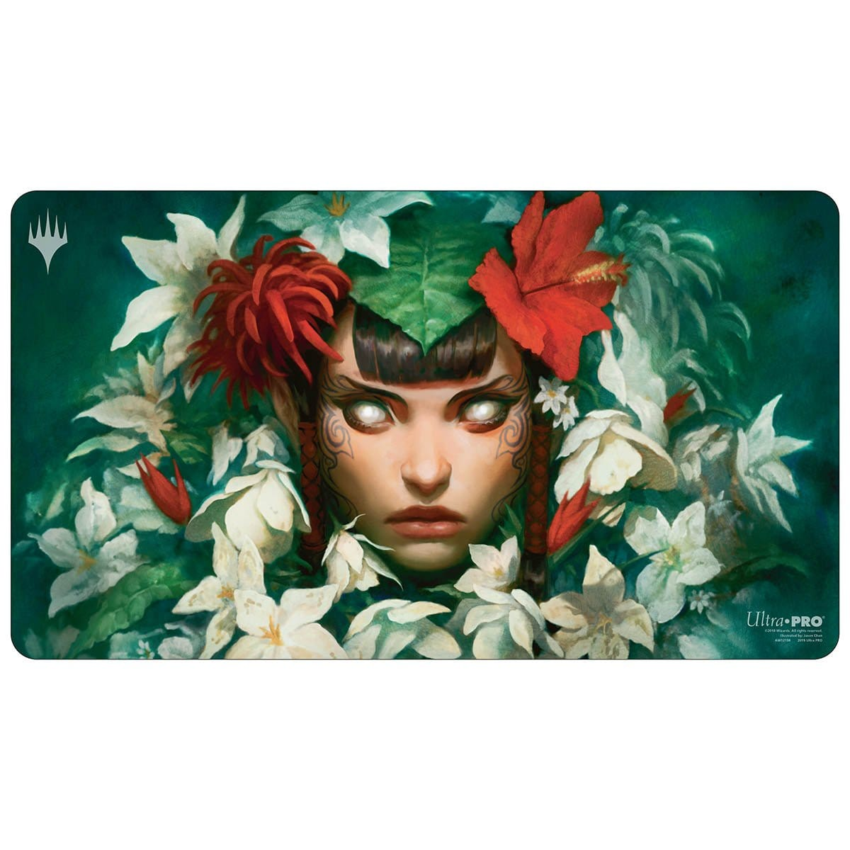 Mayael the Anima Playmat - Playmat - Original Magic Art - Accessories for Magic the Gathering and other card games