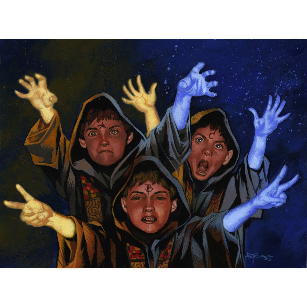 Meddling Kids Print - Print - Original Magic Art - Accessories for Magic the Gathering and other card games
