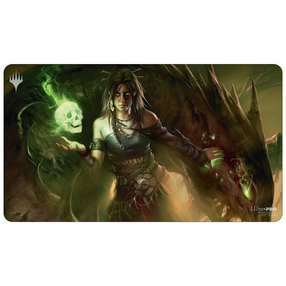 Meren of Clan Nel Toth Playmat - Playmat - Original Magic Art - Accessories for Magic the Gathering and other card games
