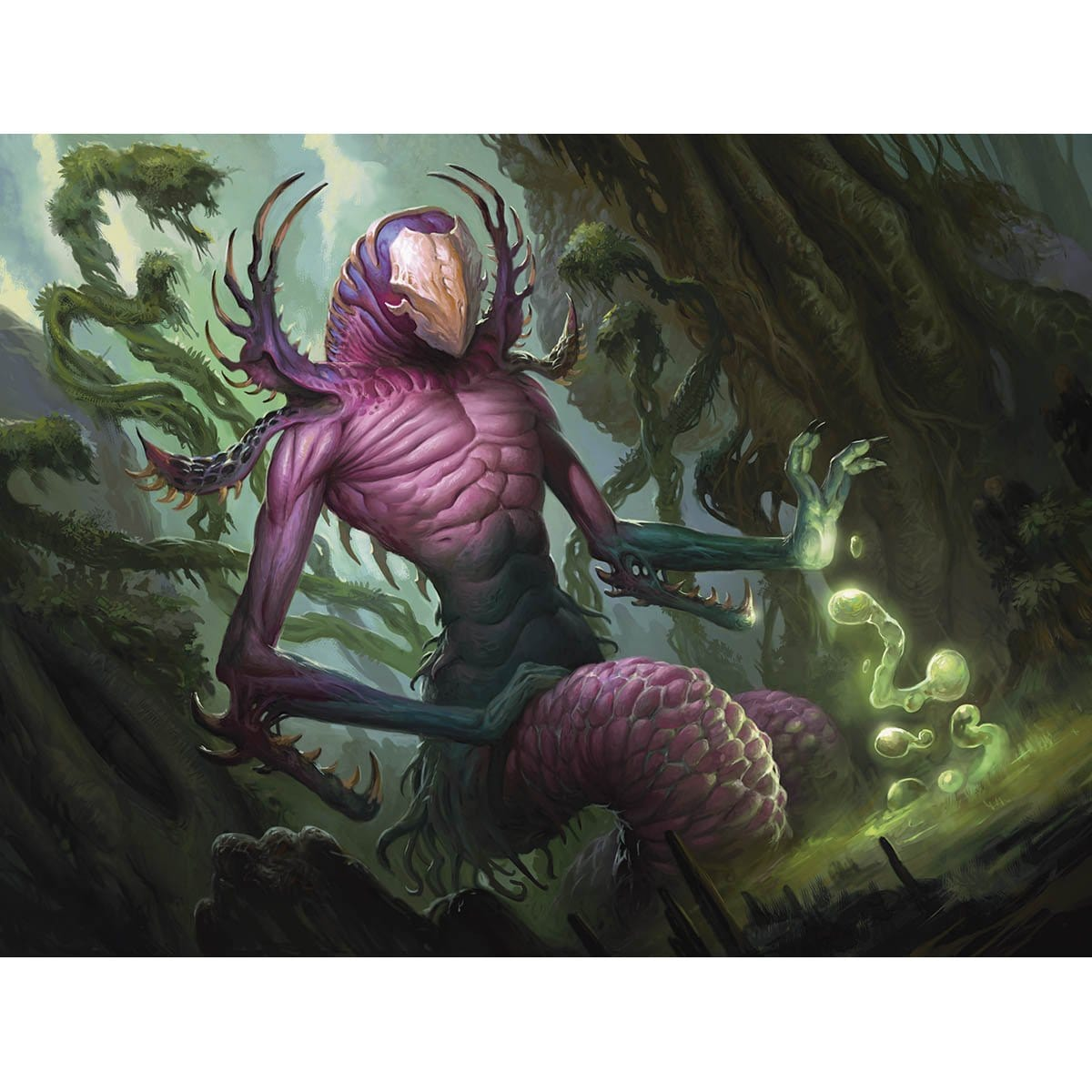 Mire's Malice Print - Print - Original Magic Art - Accessories for Magic the Gathering and other card games