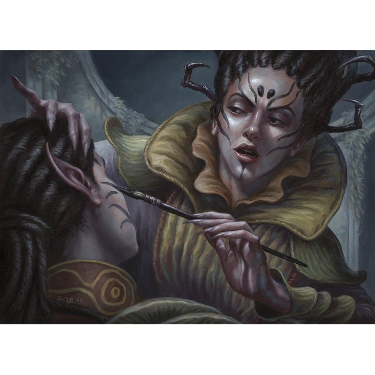 Moodmark Painter Print - Print - Original Magic Art - Accessories for Magic the Gathering and other card games