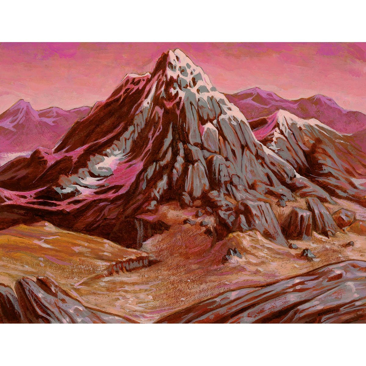 Mountain (Invasion) Print