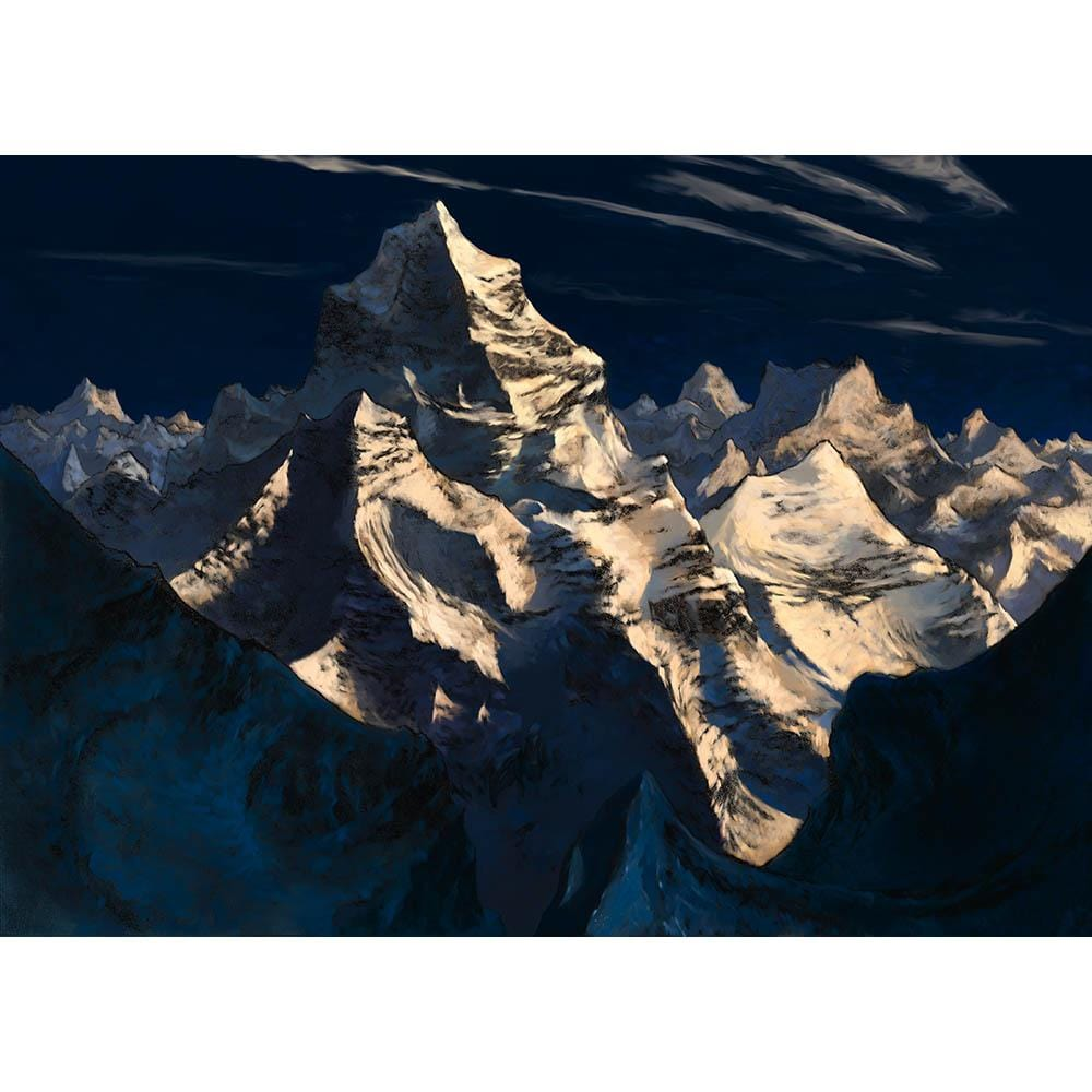 Mountain (Odyssey) Print - Print - Original Magic Art - Accessories for Magic the Gathering and other card games