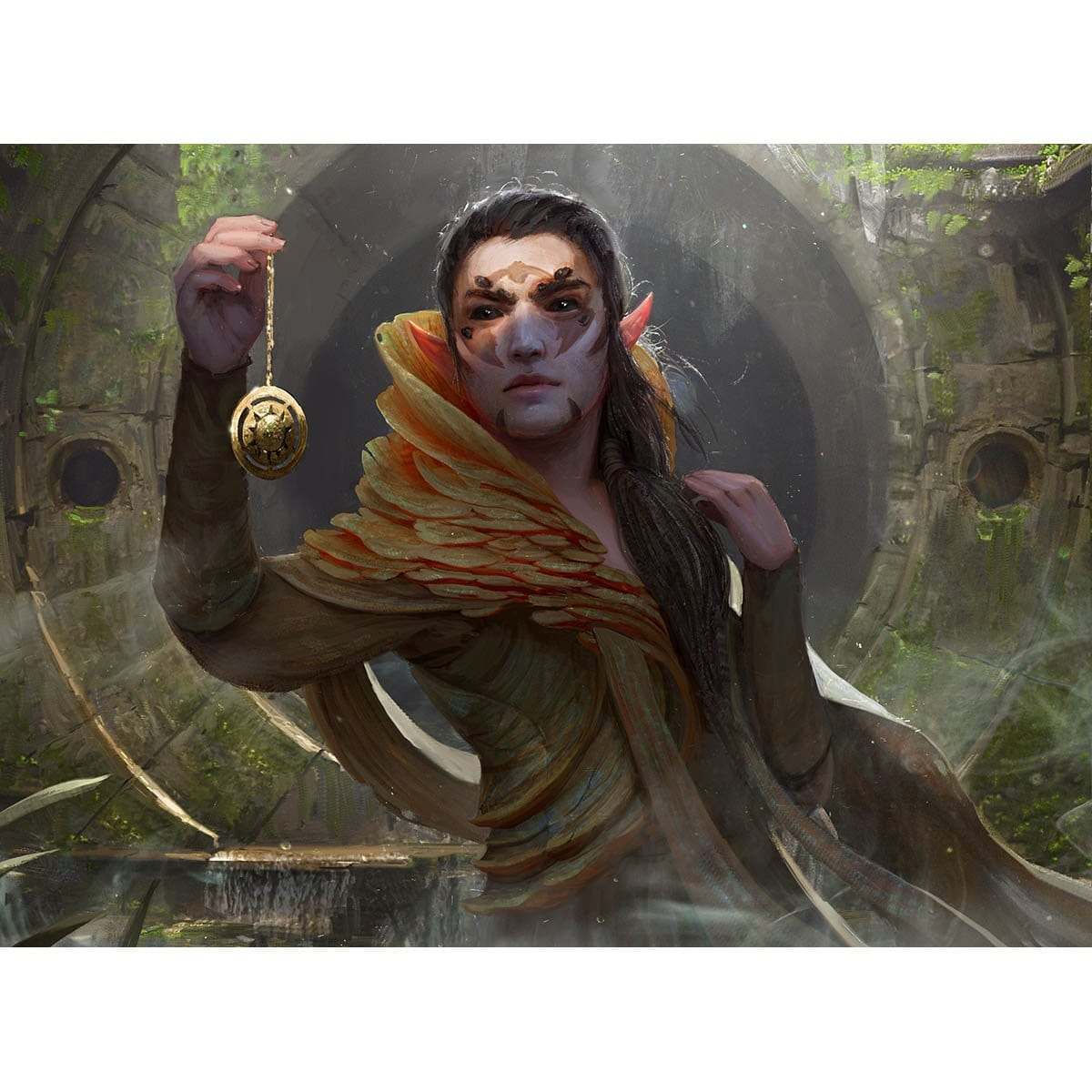 Golgari Findbroker Print - Print - Original Magic Art - Accessories for Magic the Gathering and other card games