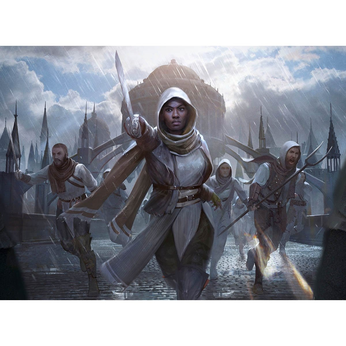 Hero of Precinct One Print - Print - Original Magic Art - Accessories for Magic the Gathering and other card games