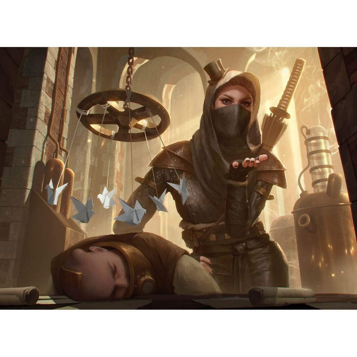 Overt Operative Print - Print - Original Magic Art - Accessories for Magic the Gathering and other card games