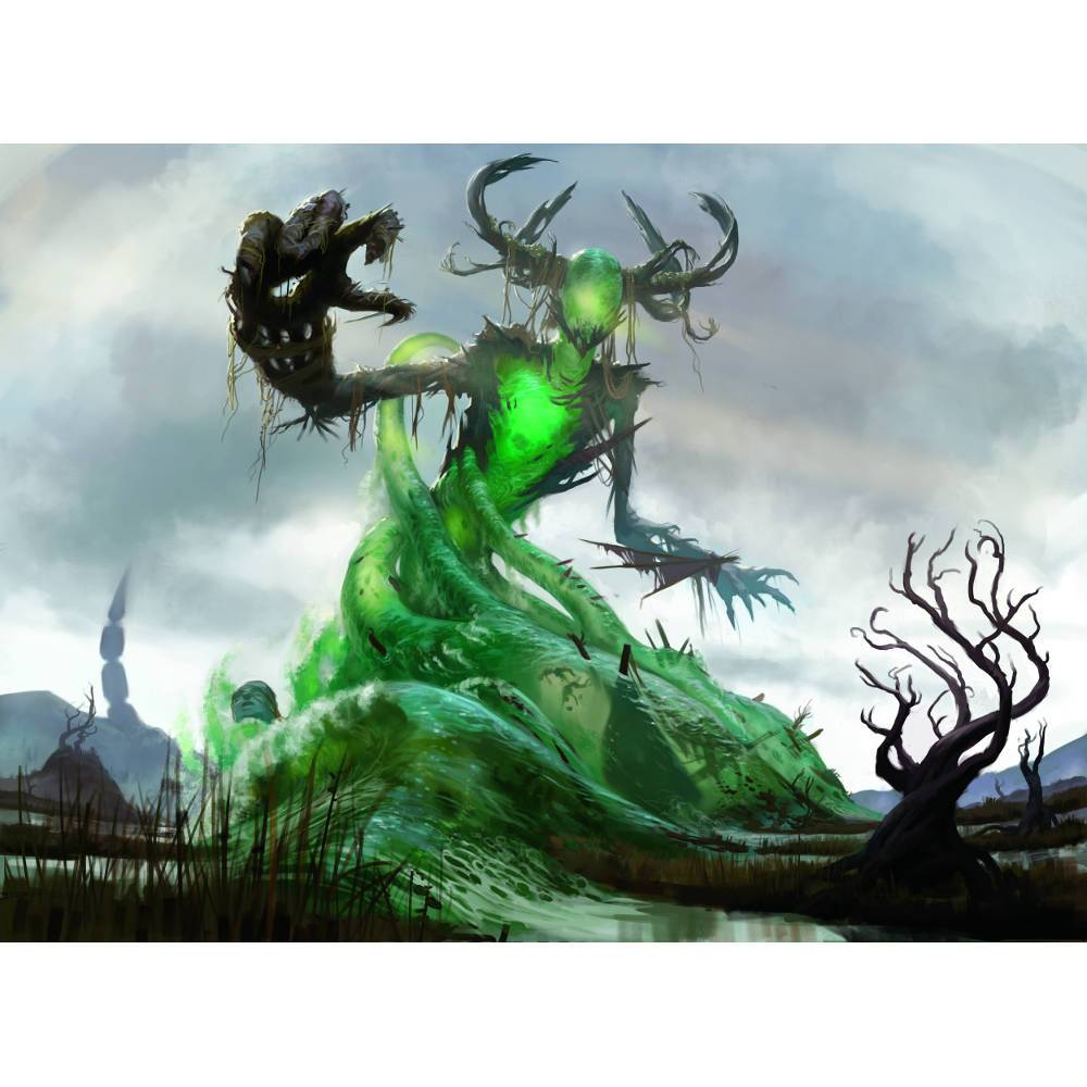 Muldrotha, the Gravetide Print - Print - Original Magic Art - Accessories for Magic the Gathering and other card games