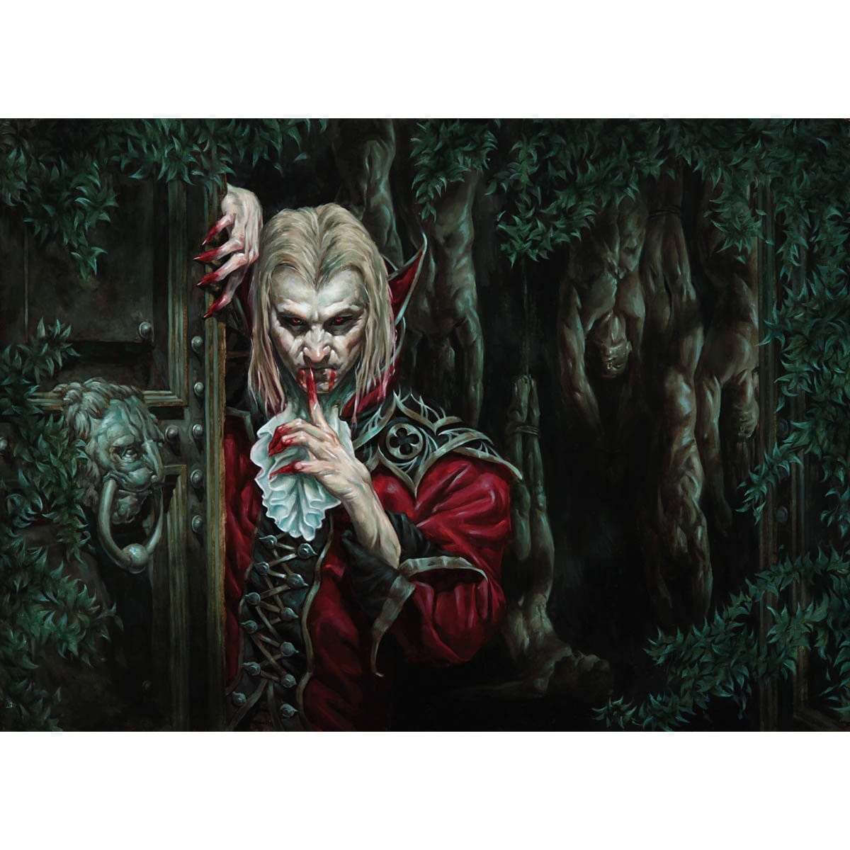 Nearheath Stalker Print - Print - Original Magic Art - Accessories for Magic the Gathering and other card games