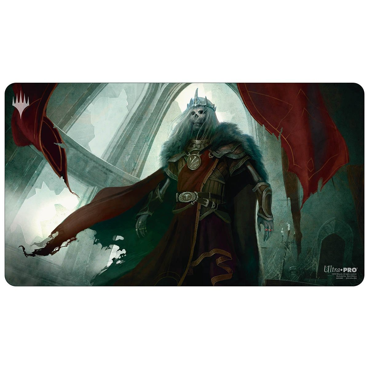 Nekusar, the Mindrazer Playmat - Playmat - Original Magic Art - Accessories for Magic the Gathering and other card games
