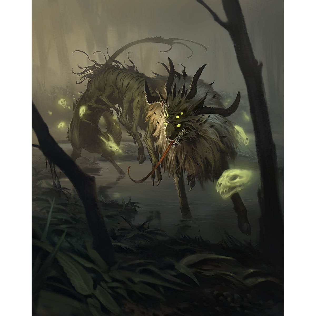 Nethori, Apex of Death Print