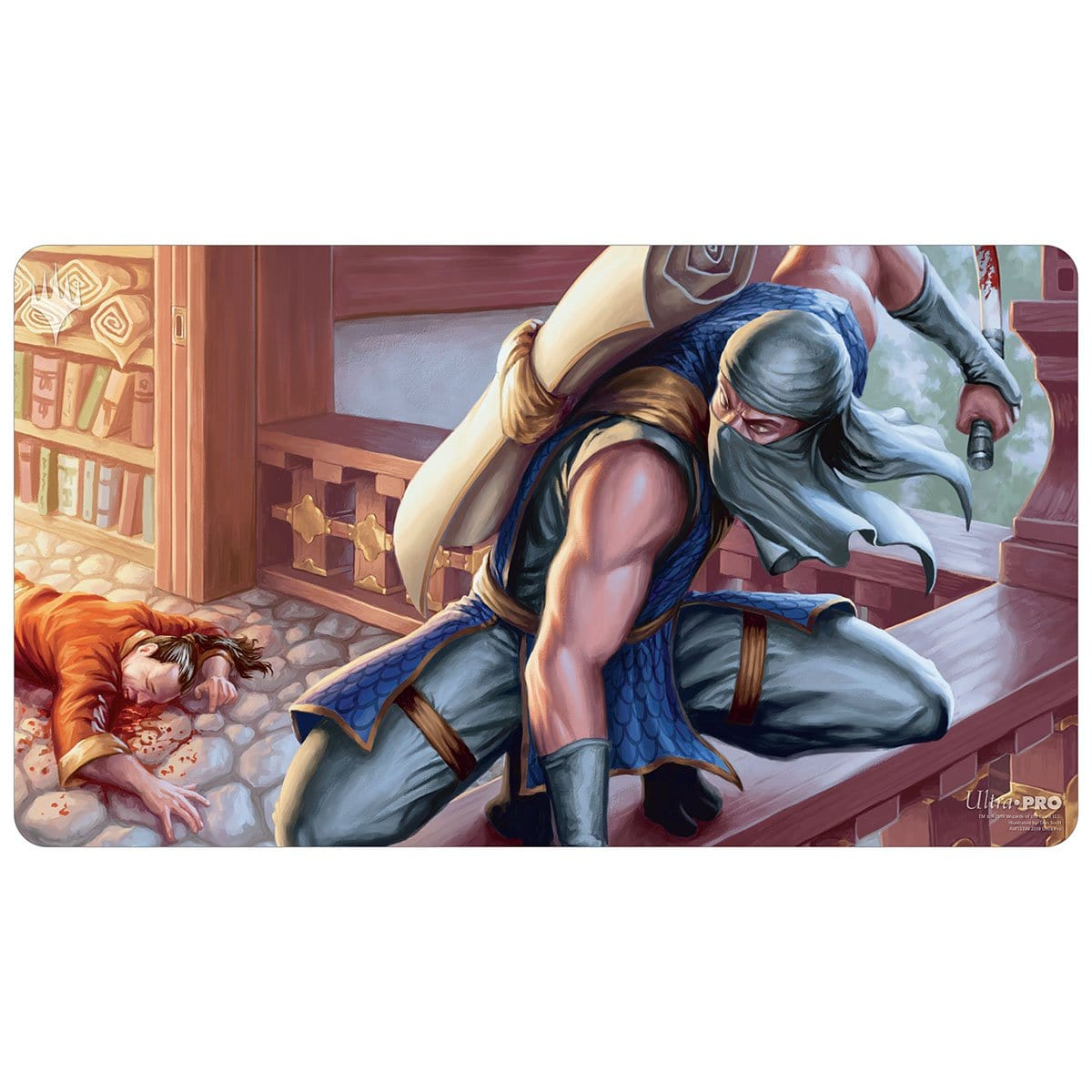 Ninja of the Deep Hours Playmat