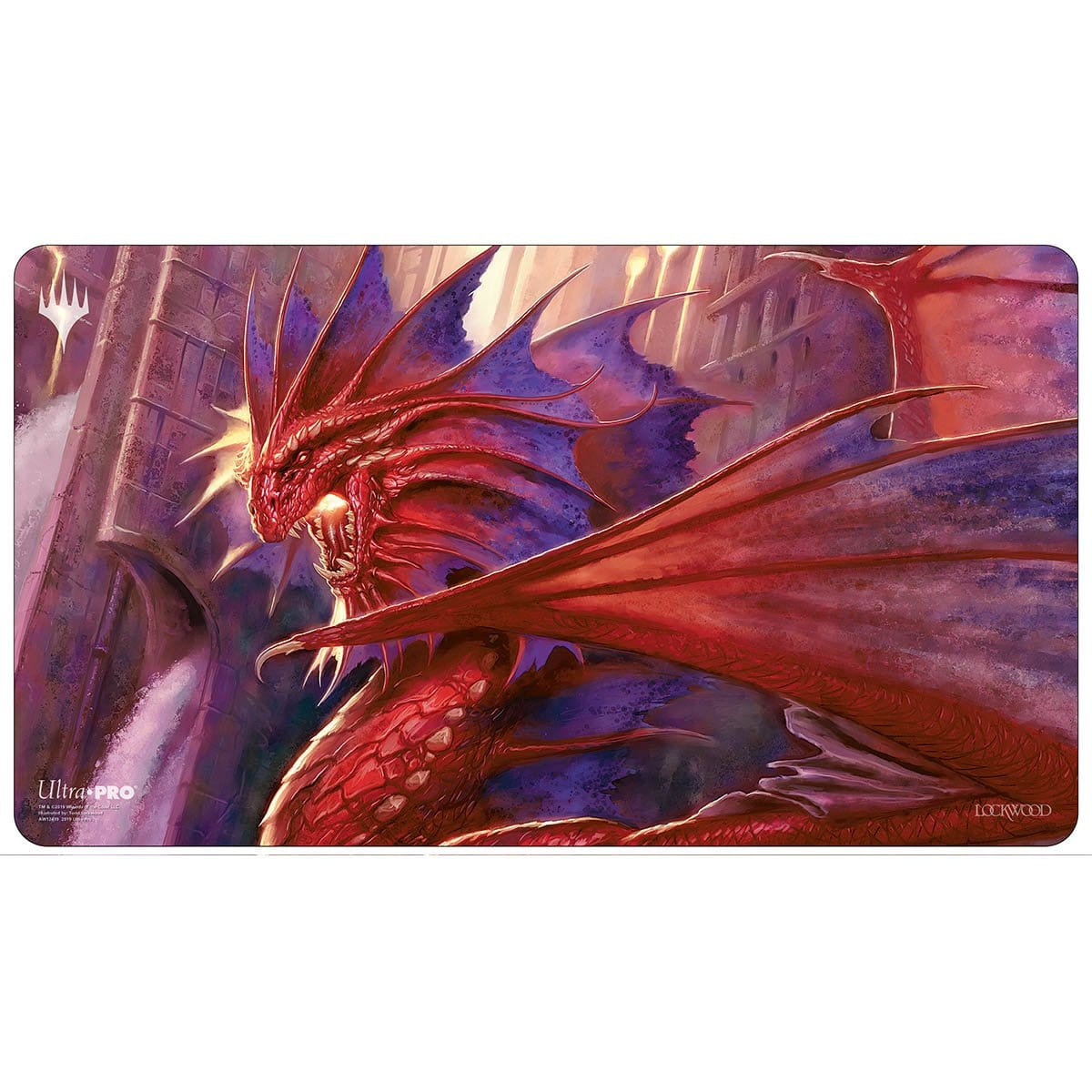 Niv-Mizzet, the Firemind Playmat - Playmat - Original Magic Art - Accessories for Magic the Gathering and other card games