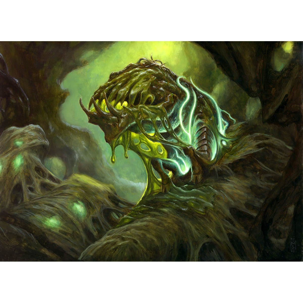 Noxious Revival Print - Print - Original Magic Art - Accessories for Magic the Gathering and other card games