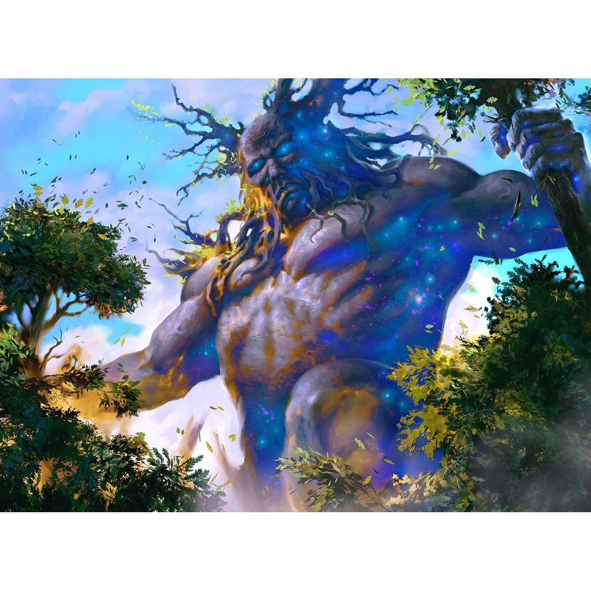 Nyxborn Colossus Print - Print - Original Magic Art - Accessories for Magic the Gathering and other card games