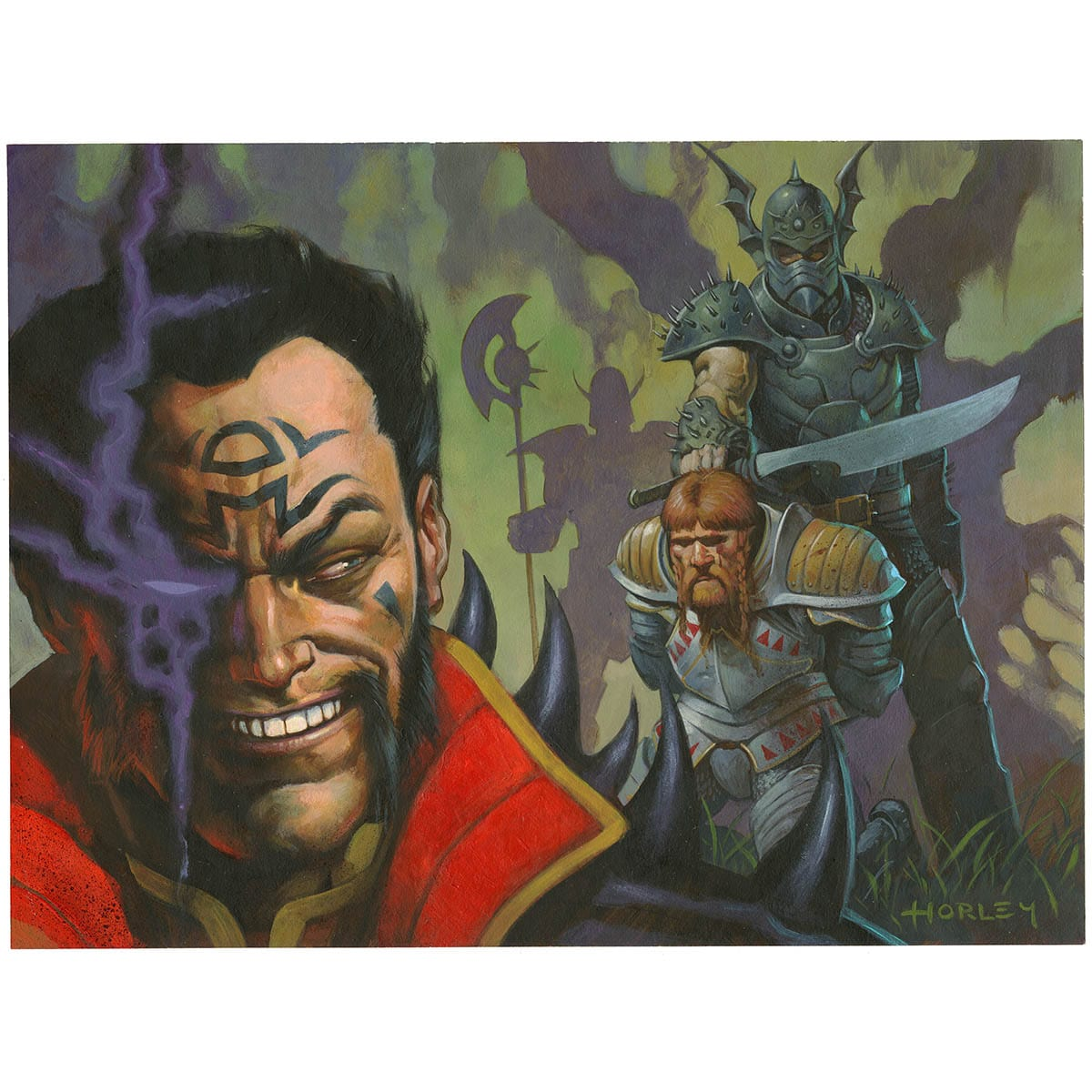 Oppression Print - Print - Original Magic Art - Accessories for Magic the Gathering and other card games