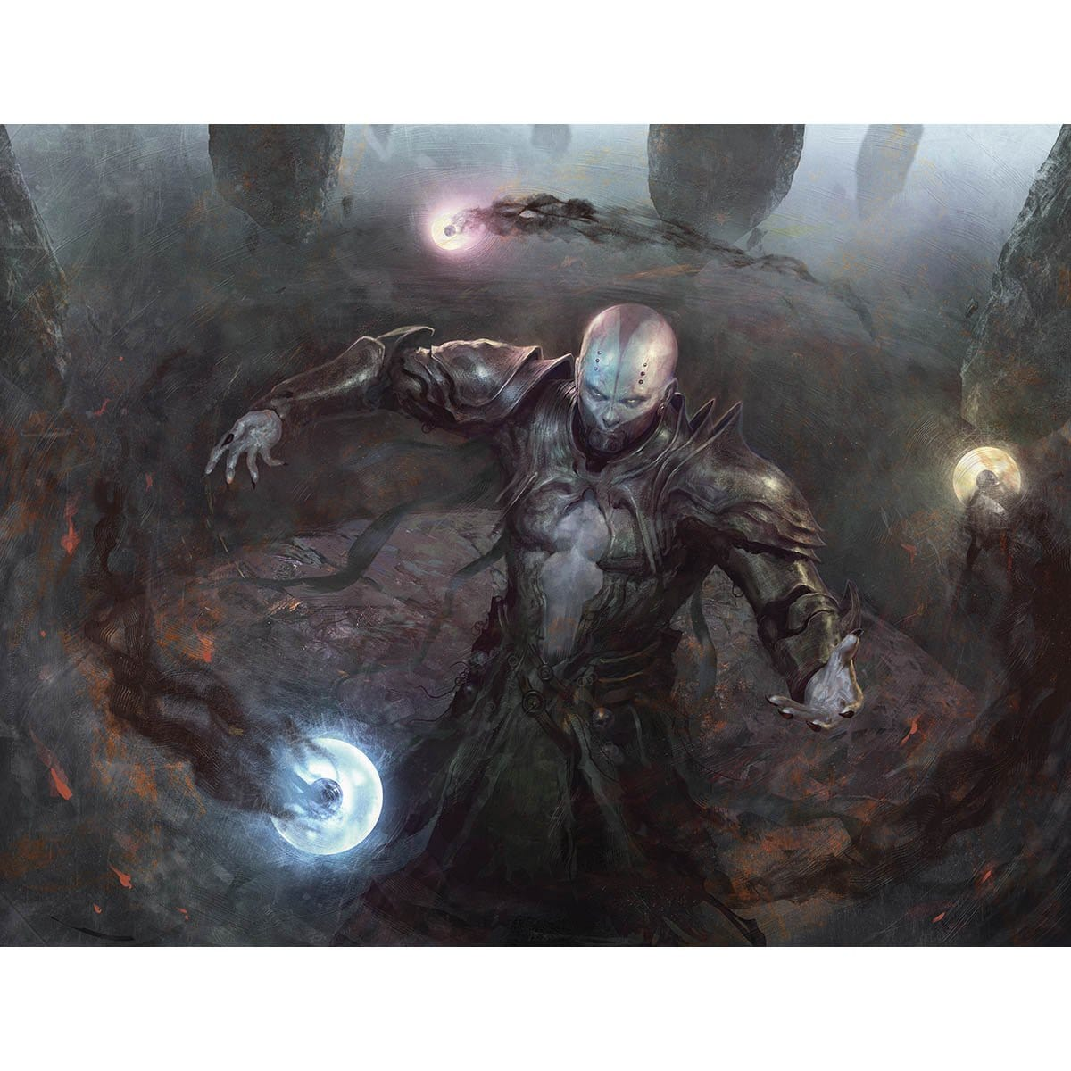Orbs of Warding Print - Print - Original Magic Art - Accessories for Magic the Gathering and other card games