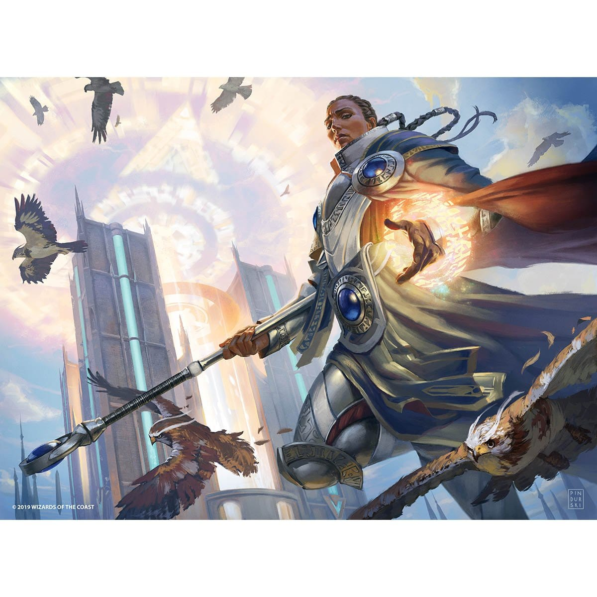 Elite Guardmage Print - Print - Original Magic Art - Accessories for Magic the Gathering and other card games