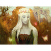 Paradise Druid Print - Print - Original Magic Art - Accessories for Magic the Gathering and other card games