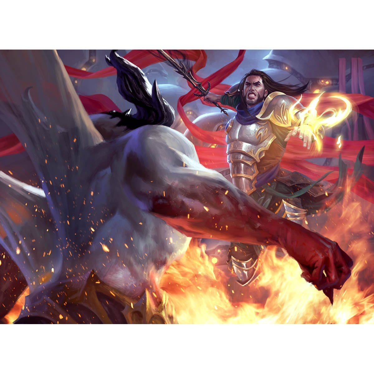 Path to Exile Print - Print - Original Magic Art - Accessories for Magic the Gathering and other card games