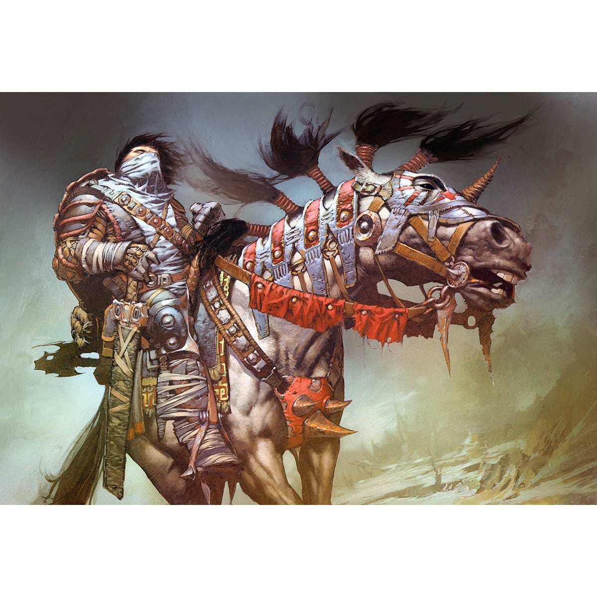 Pentarch Paladin Print - Print - Original Magic Art - Accessories for Magic the Gathering and other card games