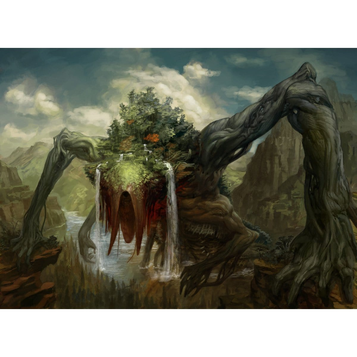 Animar, Soul of Elements Print - Print - Original Magic Art - Accessories for Magic the Gathering and other card games