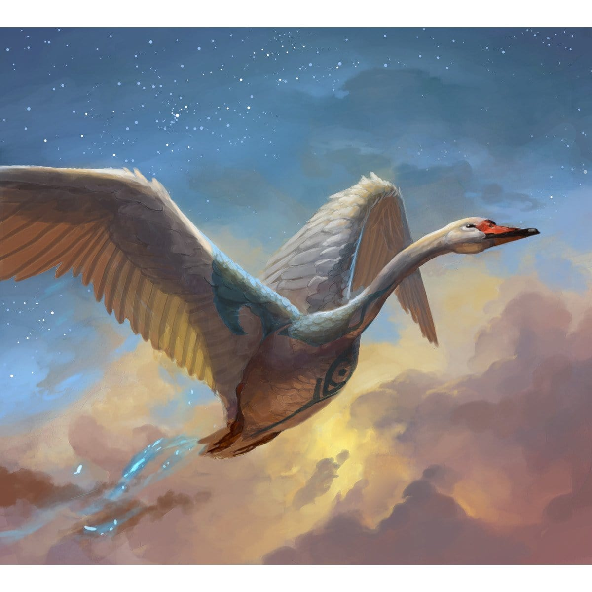 Bird Token Print - Print - Original Magic Art - Accessories for Magic the Gathering and other card games