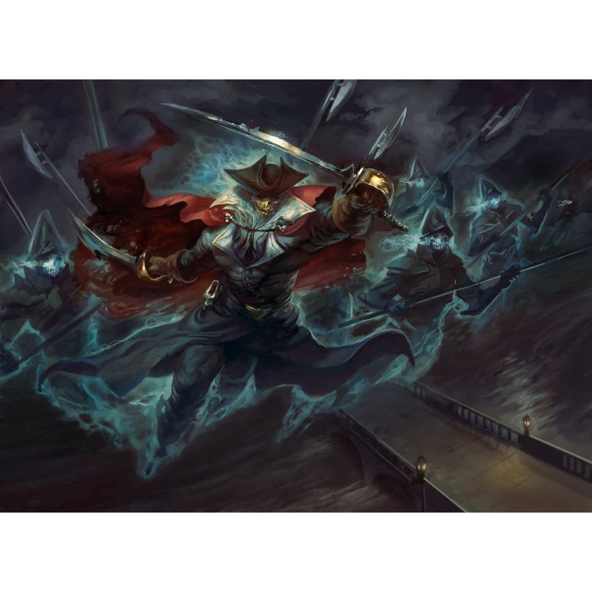 Drogskol Captain Print - Print - Original Magic Art - Accessories for Magic the Gathering and other card games