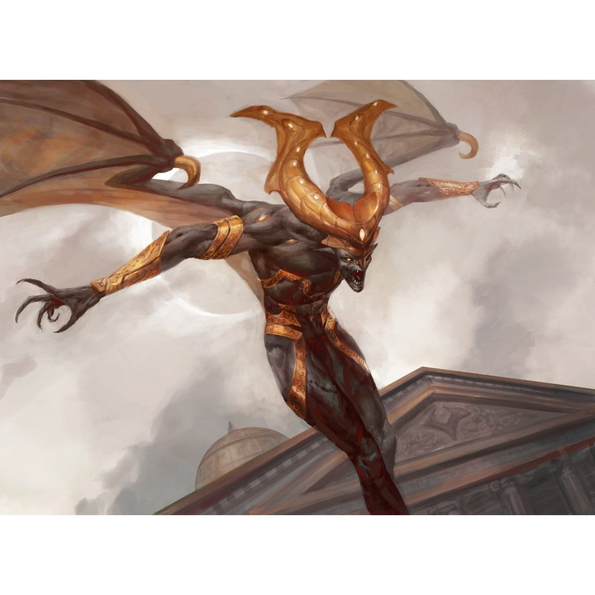 Eater of Hope Print - Print - Original Magic Art - Accessories for Magic the Gathering and other card games