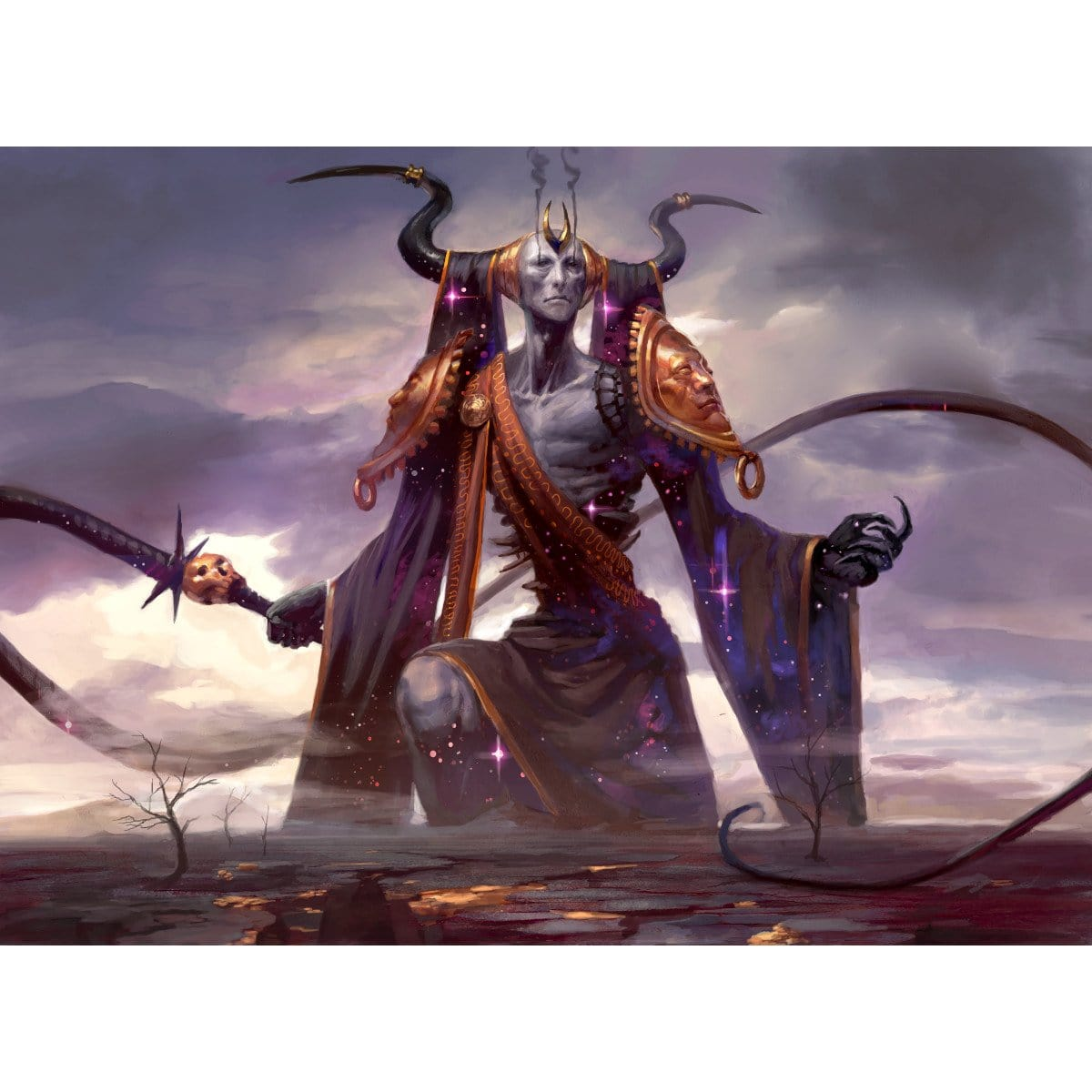 Erebos, God of the Dead Print - Print - Original Magic Art - Accessories for Magic the Gathering and other card games