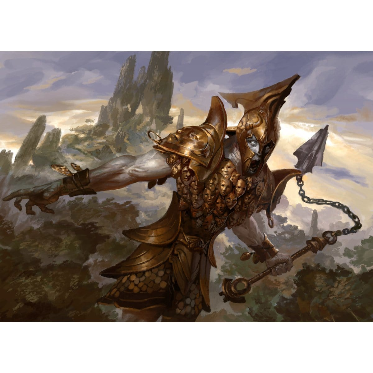 Erebos's Titan Print - Print - Original Magic Art - Accessories for Magic the Gathering and other card games