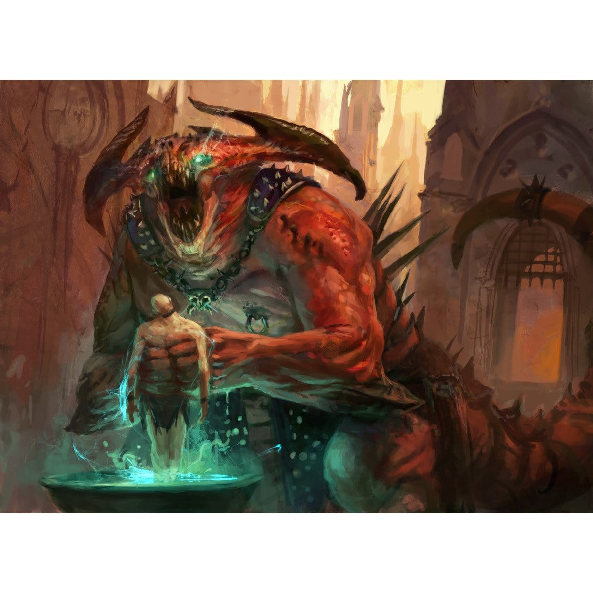 Sire of Insanity Print - Print - Original Magic Art - Accessories for Magic the Gathering and other card games